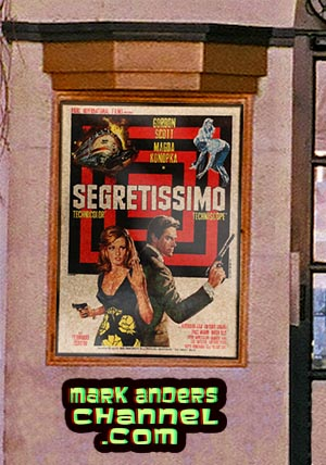 Gordon Scott's final film, Top Secret