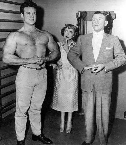 steve reeves burns and allen show